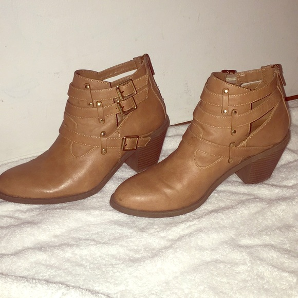 brown ankle boots for girls